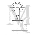 Podkładka 5F typ V5W3-1AG