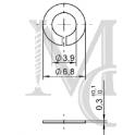 Podkładka 5F typ 5S3-2